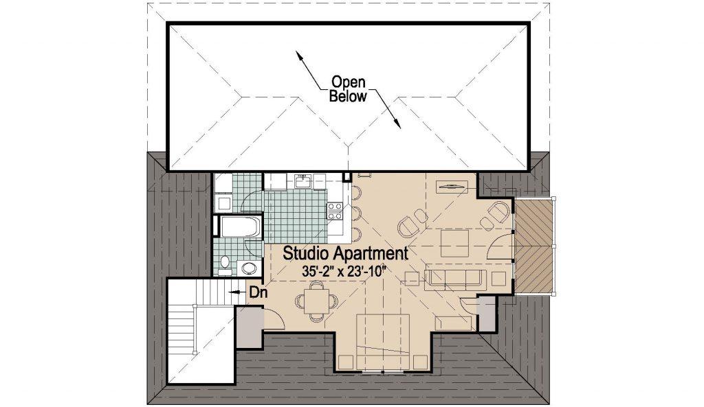 001 - 39' RV Garage - 02 - Second Floor