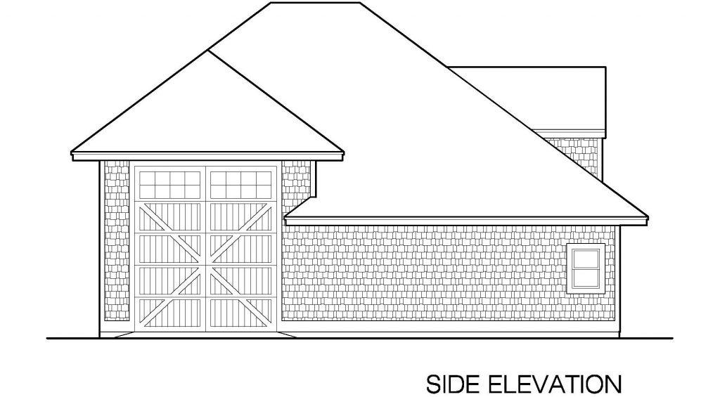 001 - 39' RV Garage - 06 - Side Elevation