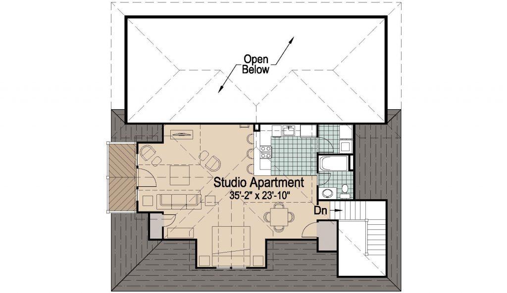 001 - 39' RV Garage - REV - 02 - Second Floor