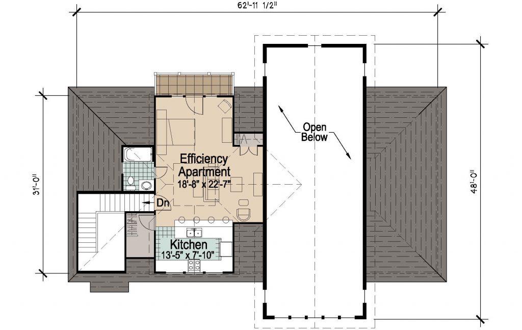 001 - 45' RV Garage - 02 - Second Floor