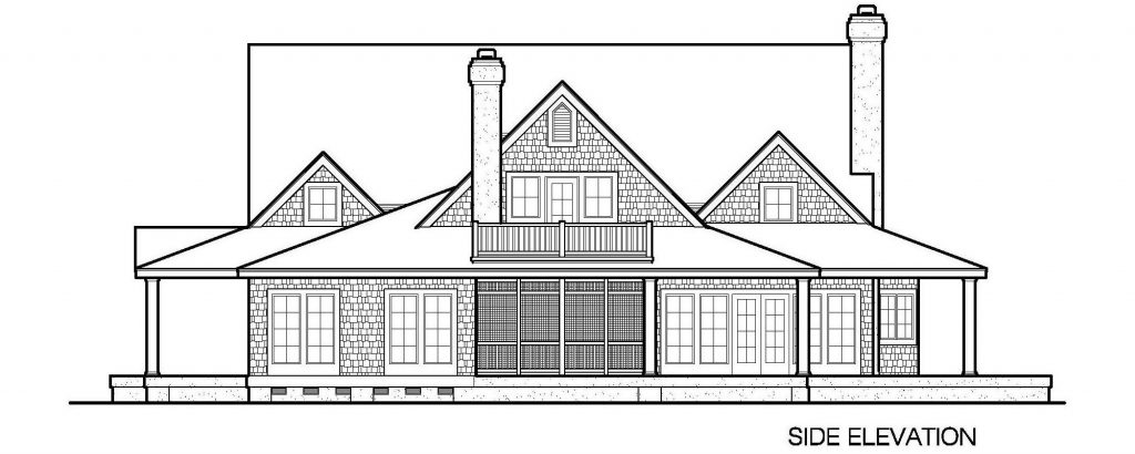 001 - Gables - 4 - Side Elevation