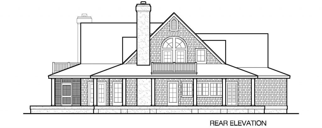 001 - Gables - 5 - Rear Elevation