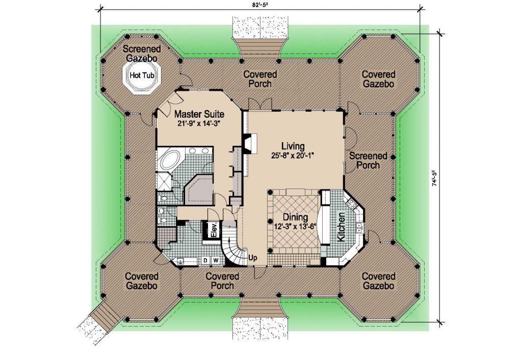 001 - Grand Gazebo - 1 - First Floor