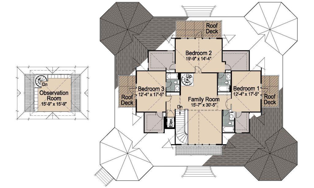 001 - Grand Gazebo - 2 - Second Floor