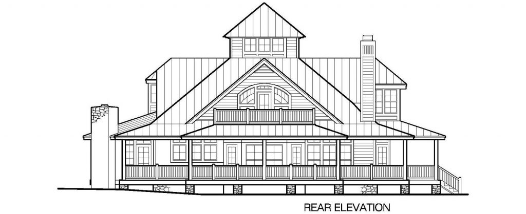 001 - Grand Island-4220-Crlspace - 5 - Rear Elevation