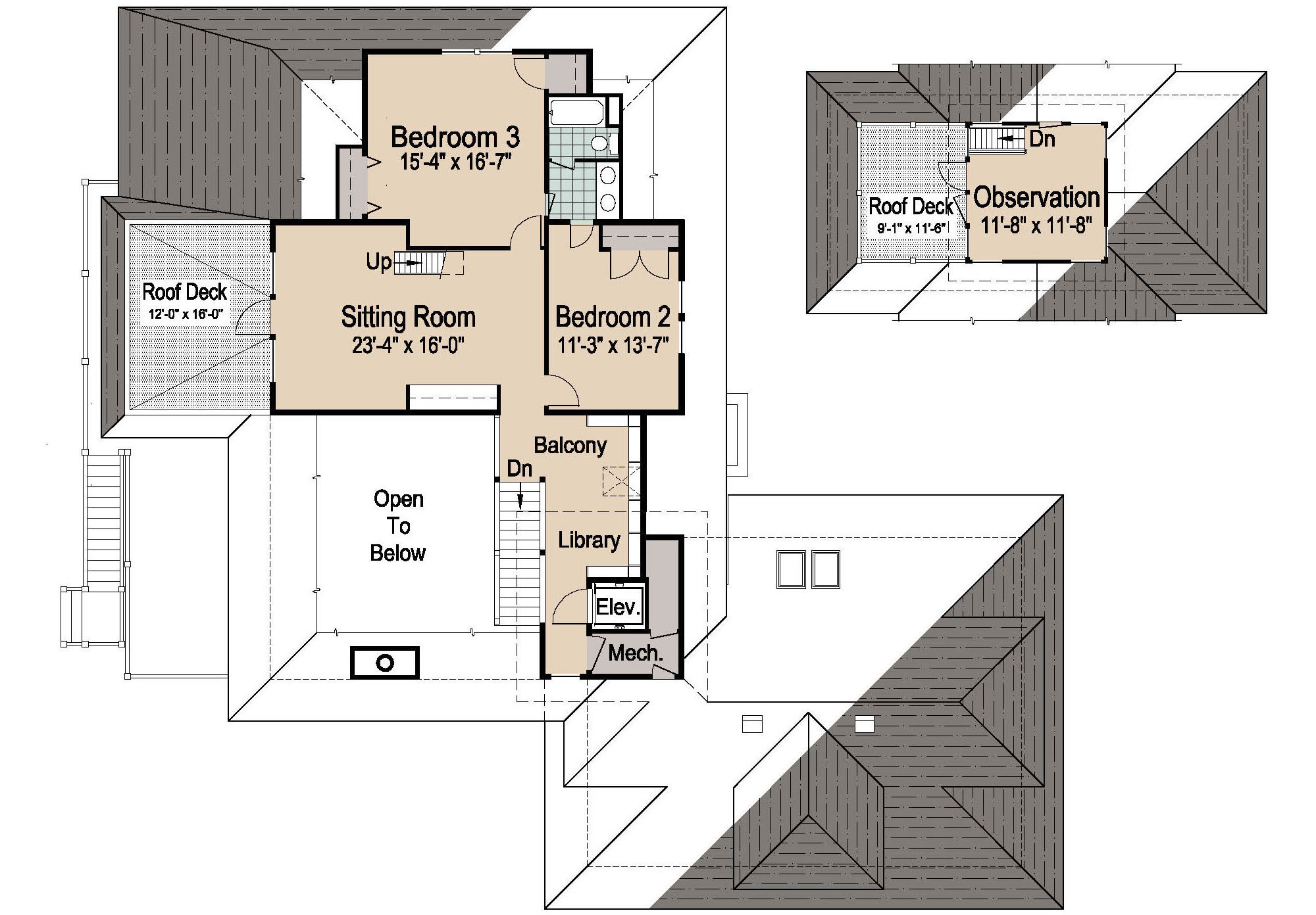 Cool House Plans With Elevators
