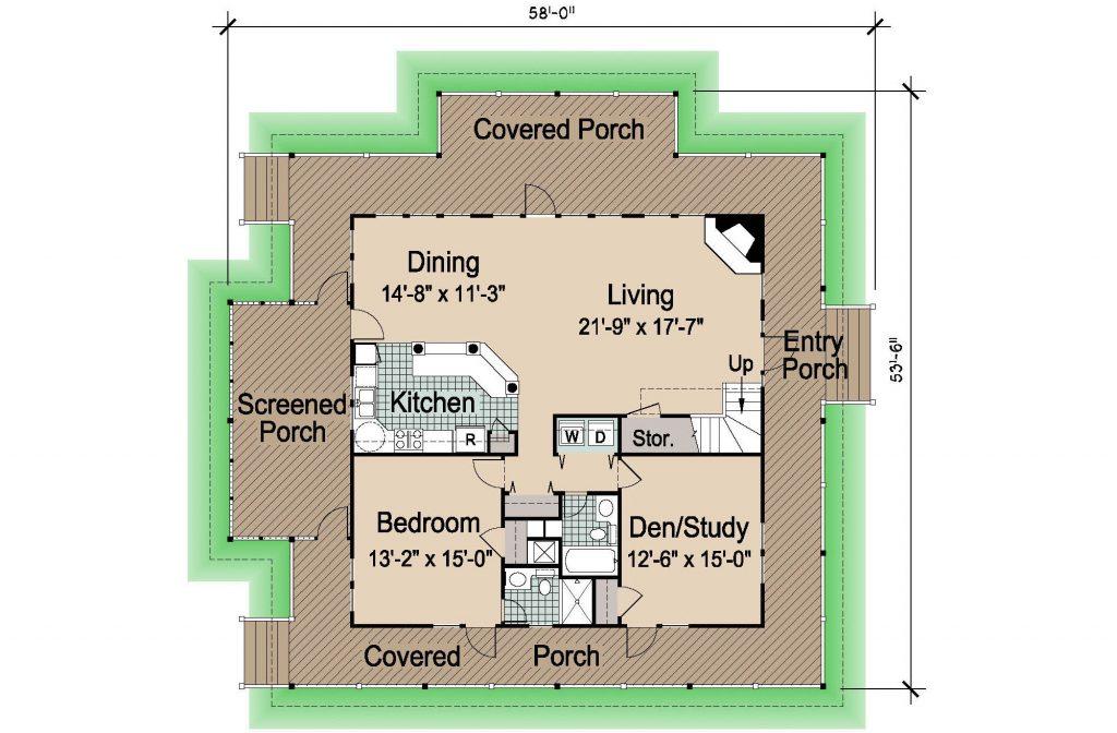 001 - Island-2058-Crlspace - 1 - First Floor