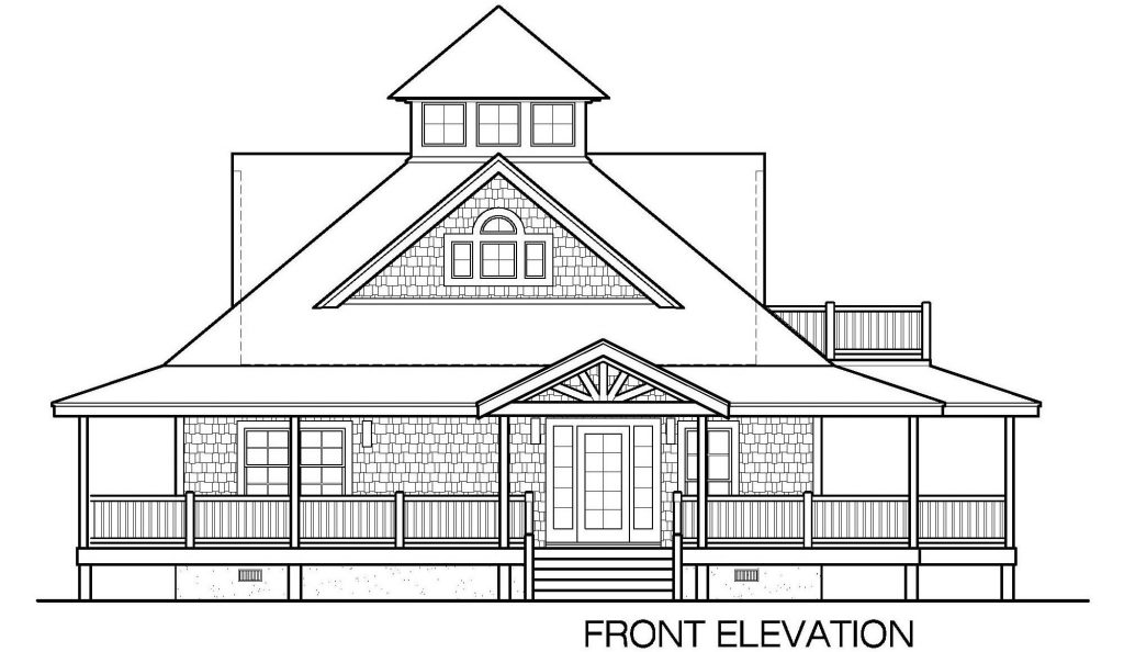001 - Island-2058-Crlspace - 3 - Front Elevation