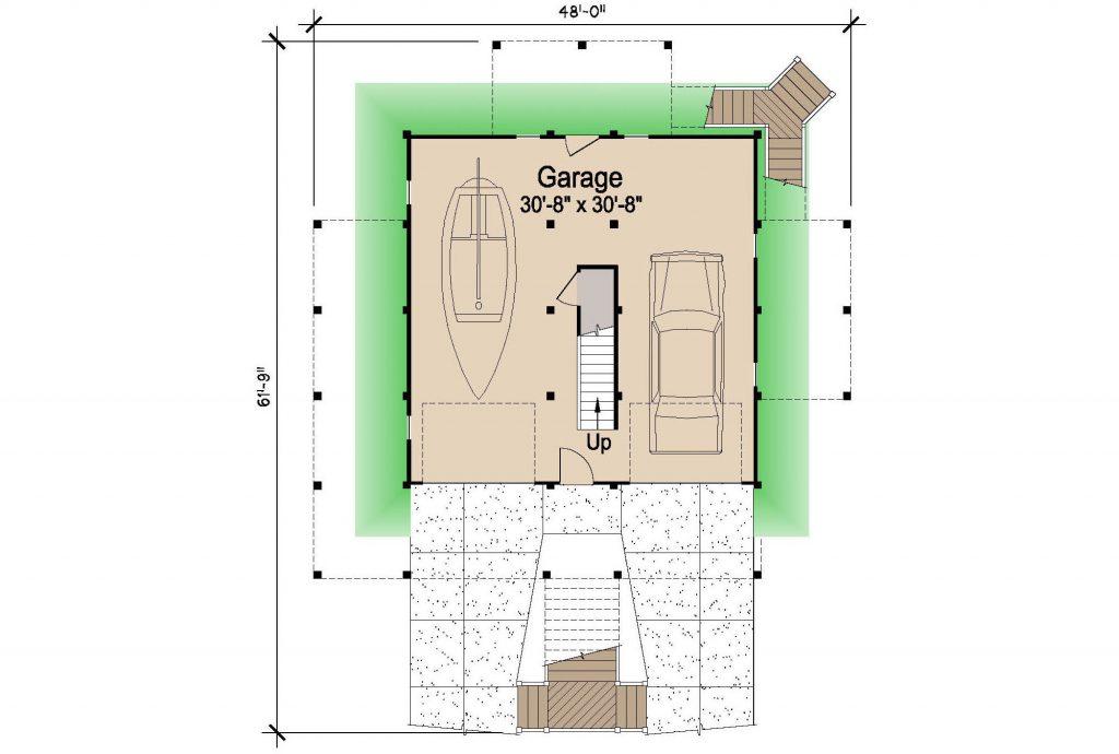 001 - Lookout Std - 1 - Ground Floor
