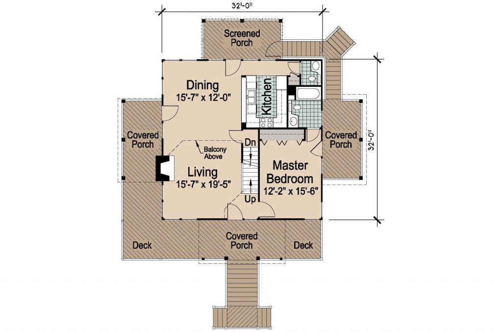 001 - Lookout Std - 2 - First Floor