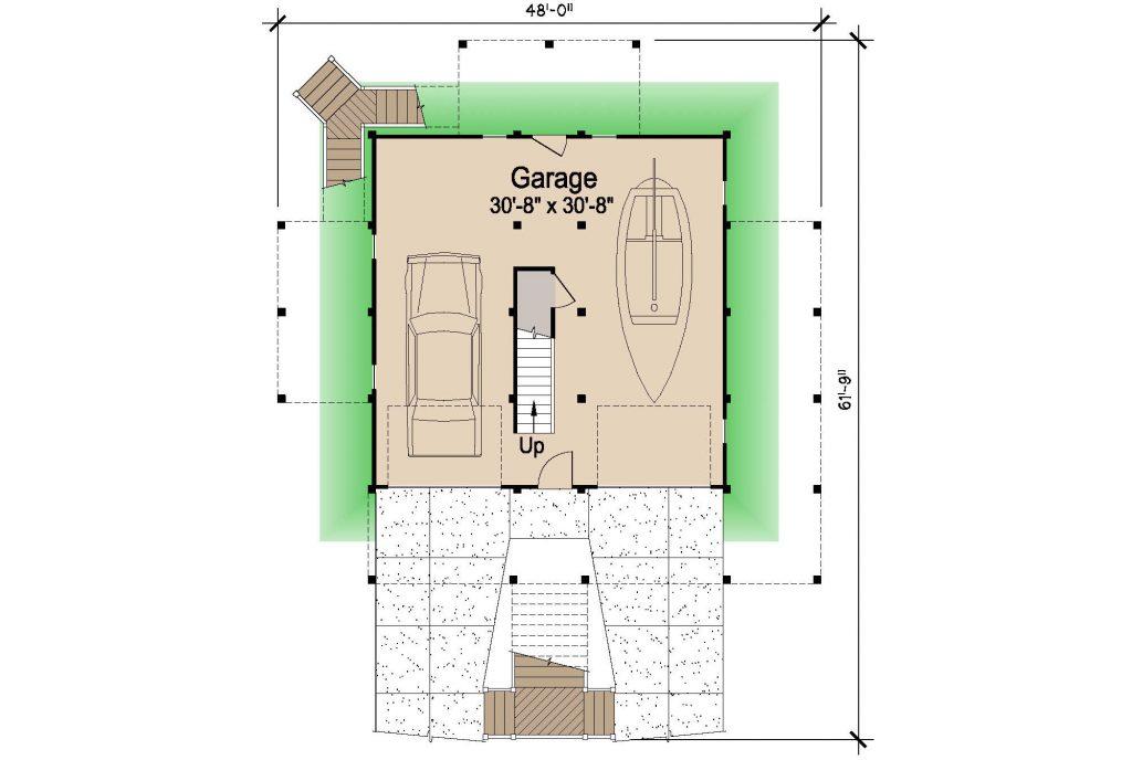 001 - Lookout Std - REV - 1 - Ground Floor