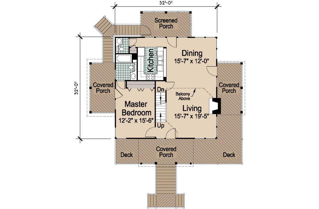 001 - Lookout Std - REV - 2 - First Floor