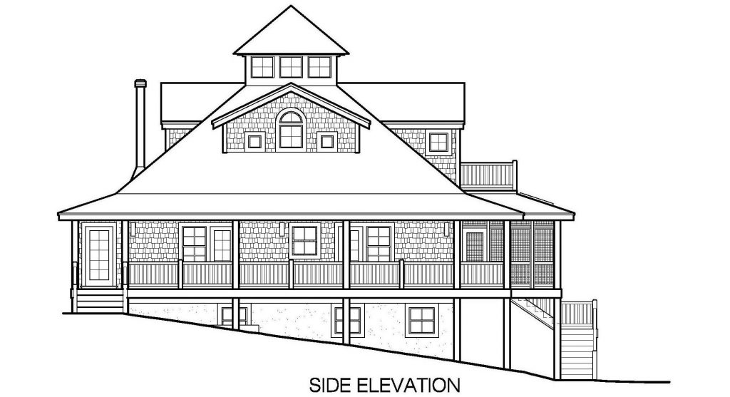001 - Mountain - 5 - Side Elevation