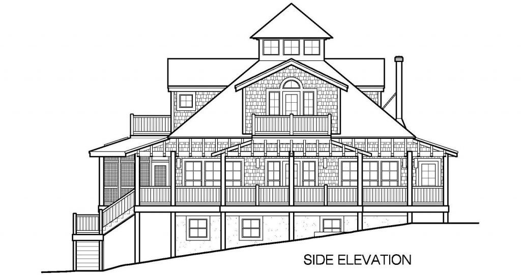 001 - Mountain - 7 - Side Elevation