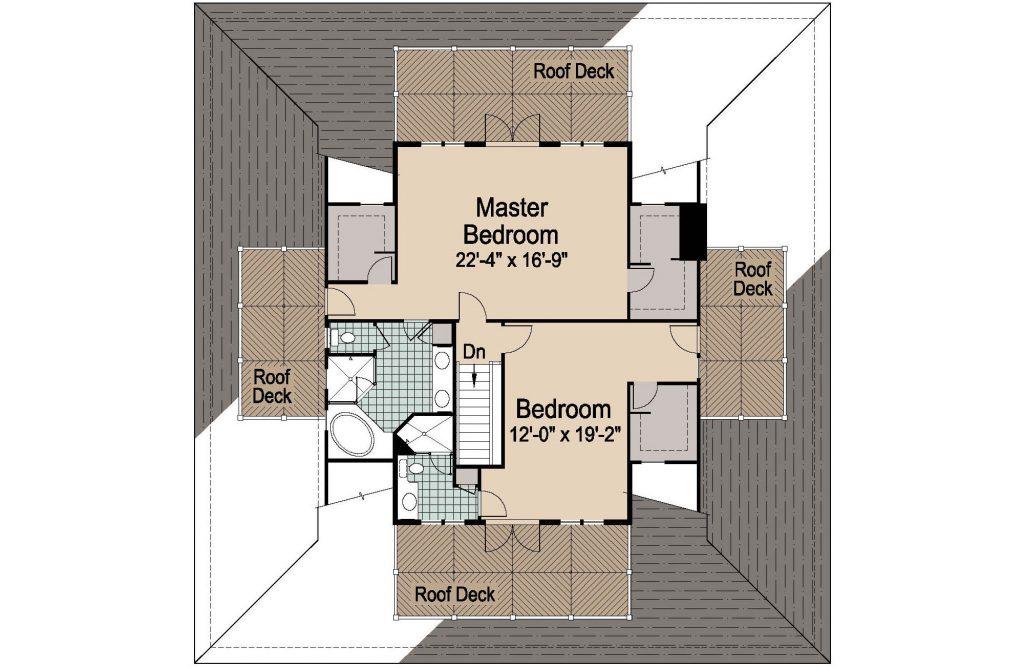 001 - Nagshead - 3 - Second Floor