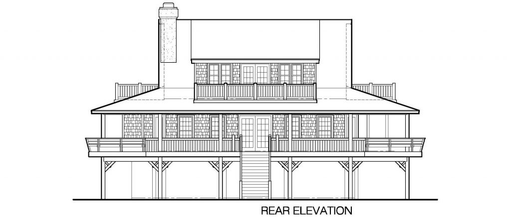 001 - Nagshead - 6 - Rear Elevation
