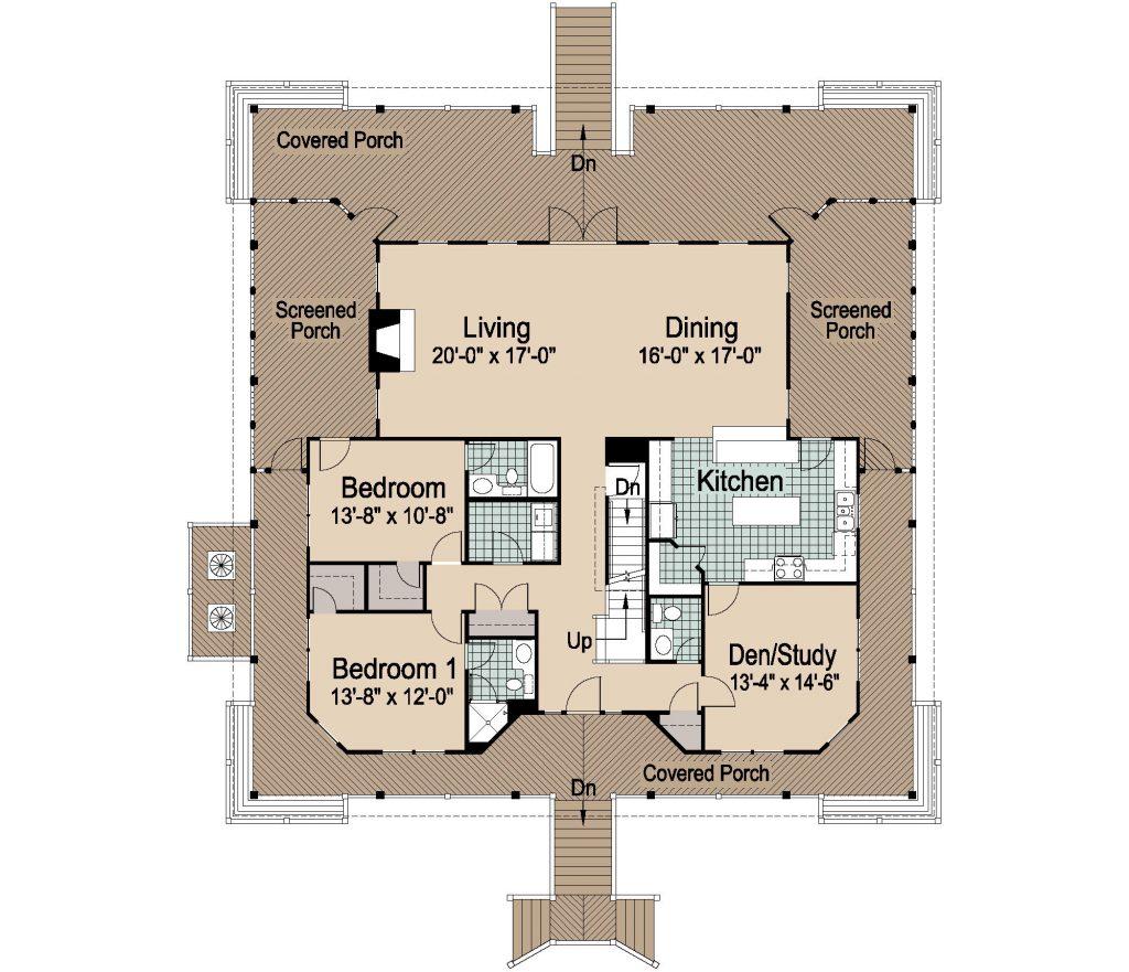 001 - Nagshead - REV - 2 - First Floor
