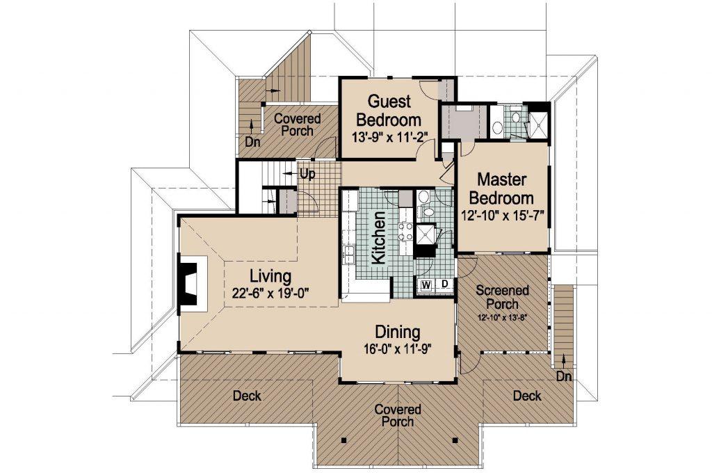 001 - Peaks Std - 2 - First Floor
