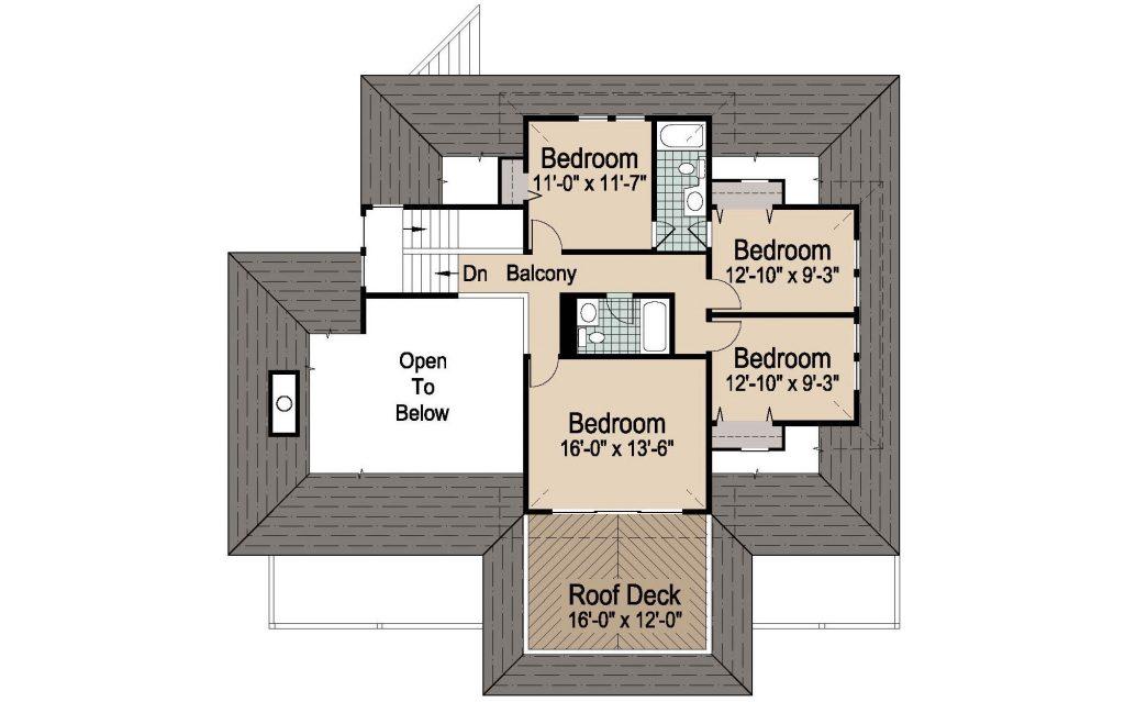 001 - Peaks Std - 3 - Second Floor