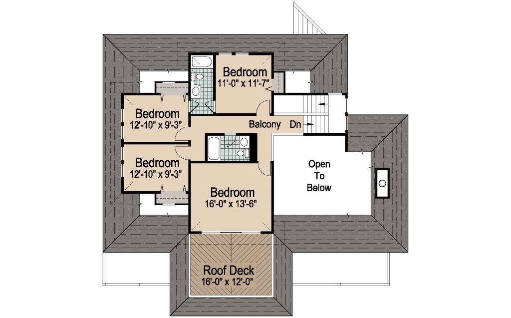 001 - Peaks Std - REV - 3 - Second Floor