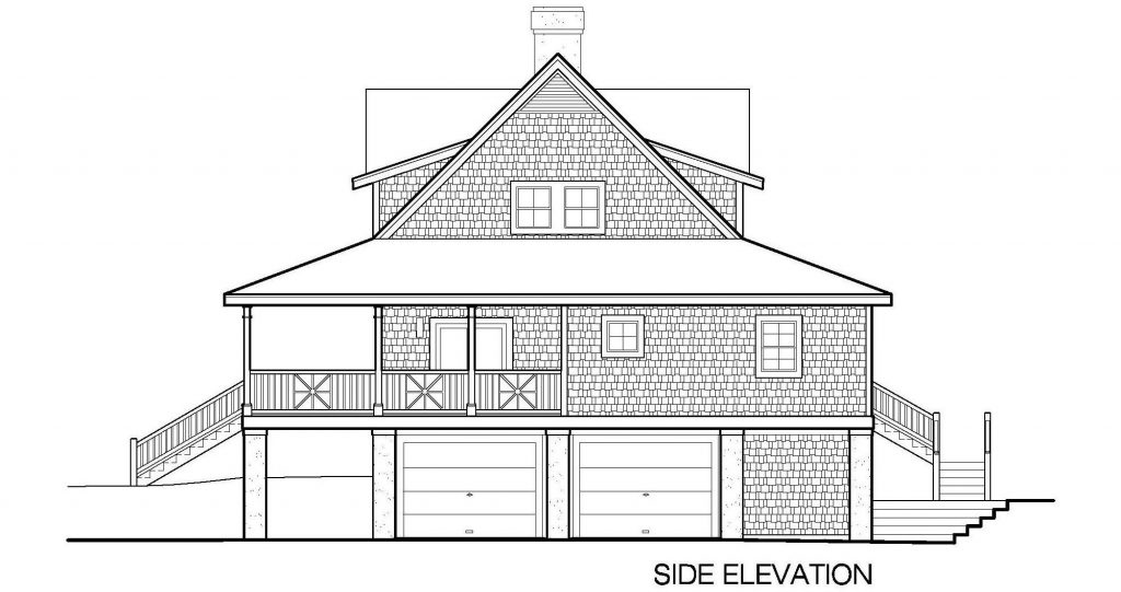 001 - Plantation Std - 5 - Side Elevation