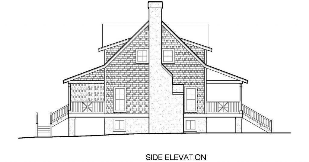 001 - Plantation Std - 7 - Side Elevation