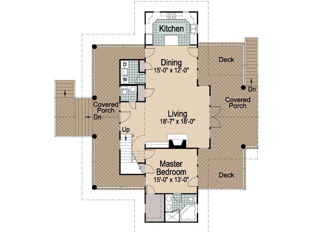 001 - Shelter-2117-Side Ent Gar - 2 - First Floor