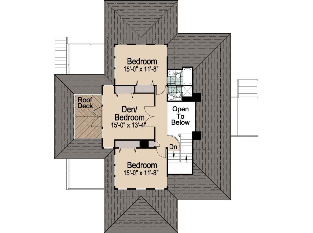 001 - Shelter-2117-Side Ent Gar - REV - 3 - Second Floor