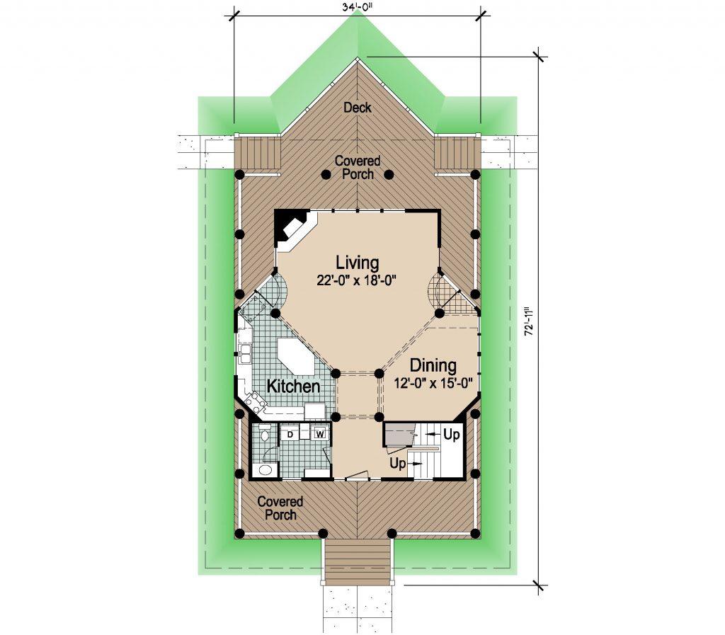 001 - Winds-Crwlspace  - 1 - First Floor