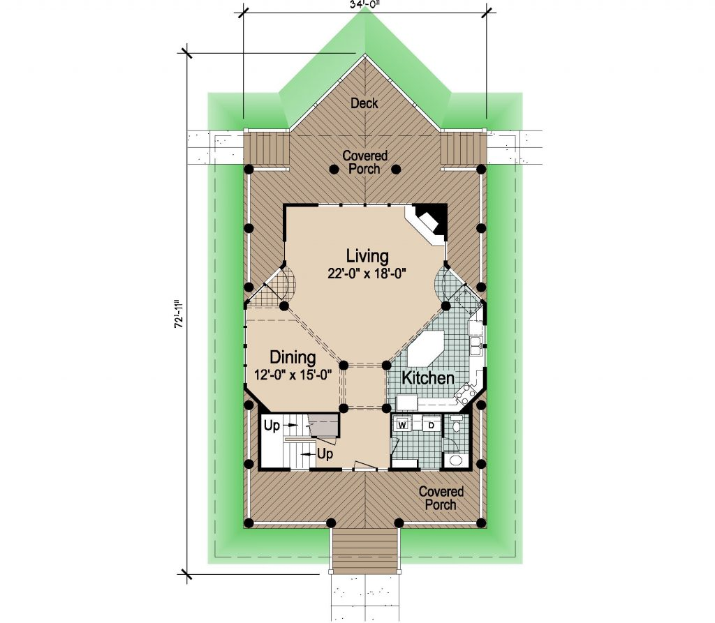 001 - Winds-Crwlspace  Rev - 1 - First Floor