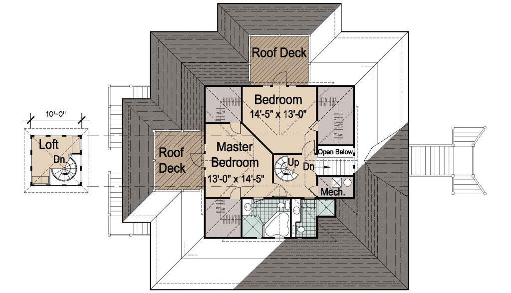 002 - Island-2058-Pile-Frt-Ent - 3 - Second Floor