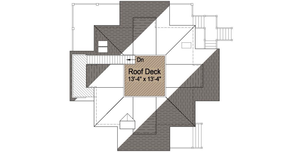 002 - Lookout-Basement-Garage - 4 - Roof Plan
