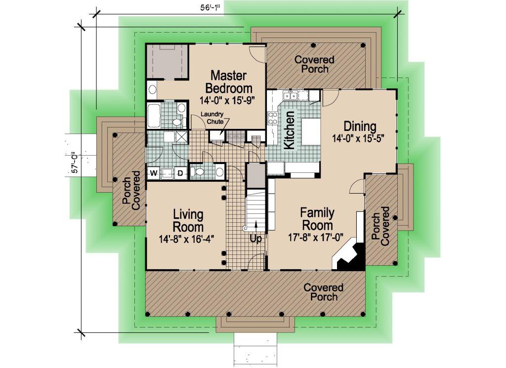 002 - Shingle Balcony - REV - 1 - First Floor