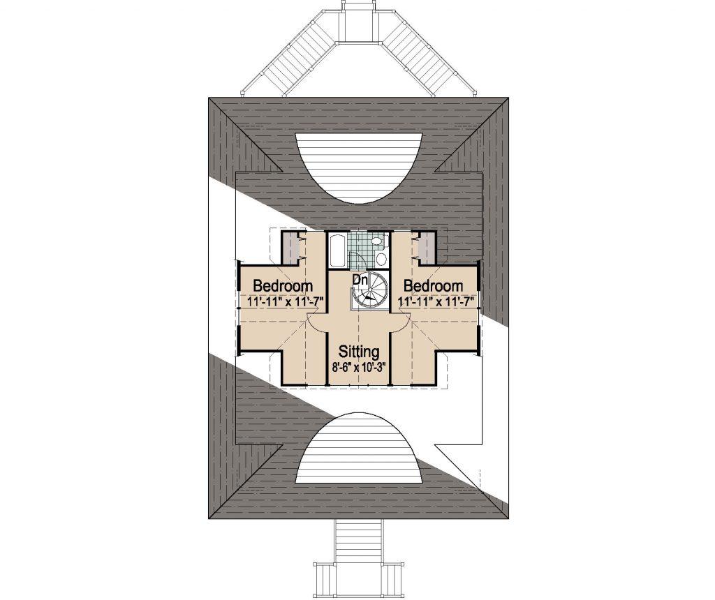 002 - Winds-Pile-Gable Rev - 4 - Third Floor
