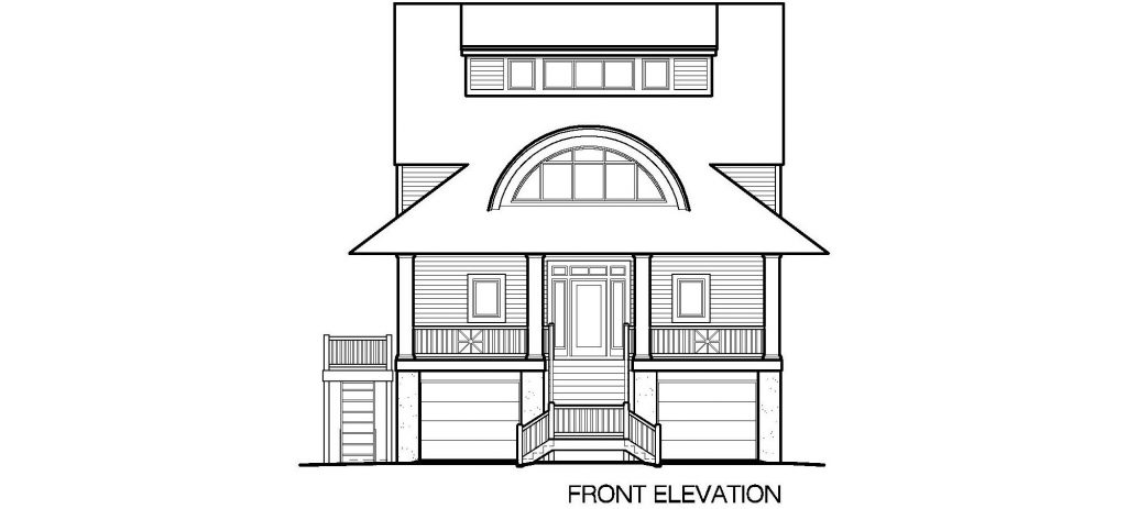 003 - Winds-Pile-Shed - 5 - Front Elevation