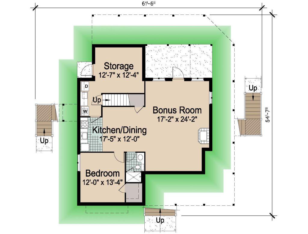 004 - Hip-2497-4Bdrm-Bsmt - 1 - Ground Floor