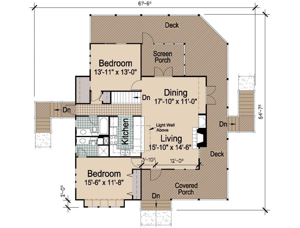 004 - Hip-2497-4Bdrm-Bsmt - 2 - First Floor