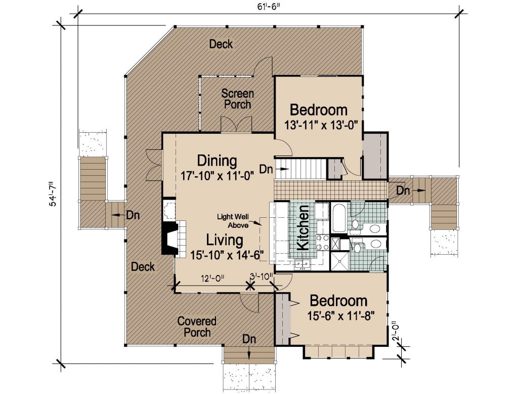 004 - Hip-2497-4Bdrm-Bsmt - REV - 2 - First Floor