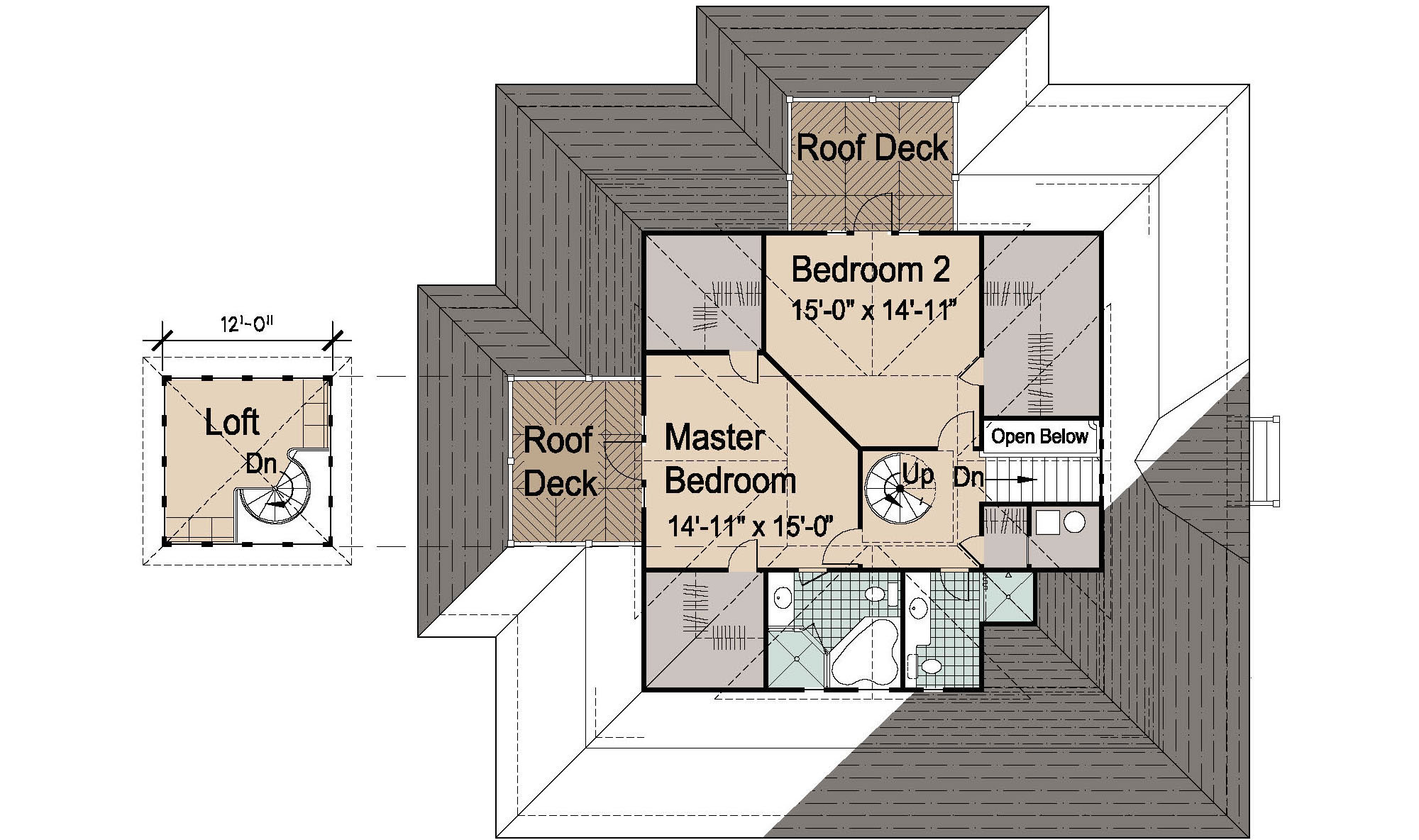 island cottage basement foundation 2470 sf plus 1521 sf