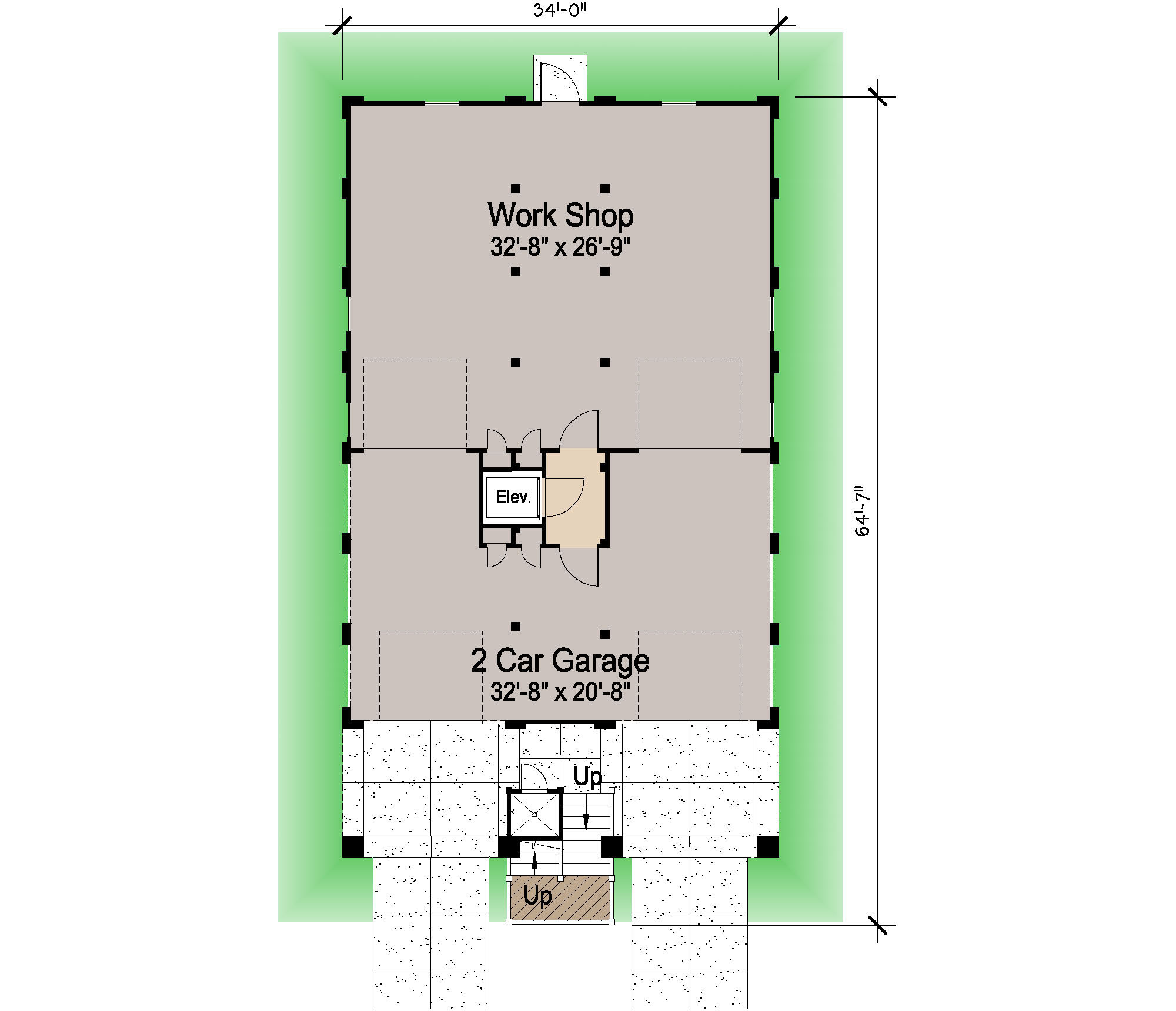 Porches cottage piling foundation roof deck 2900 sf for Piling foundation house plans