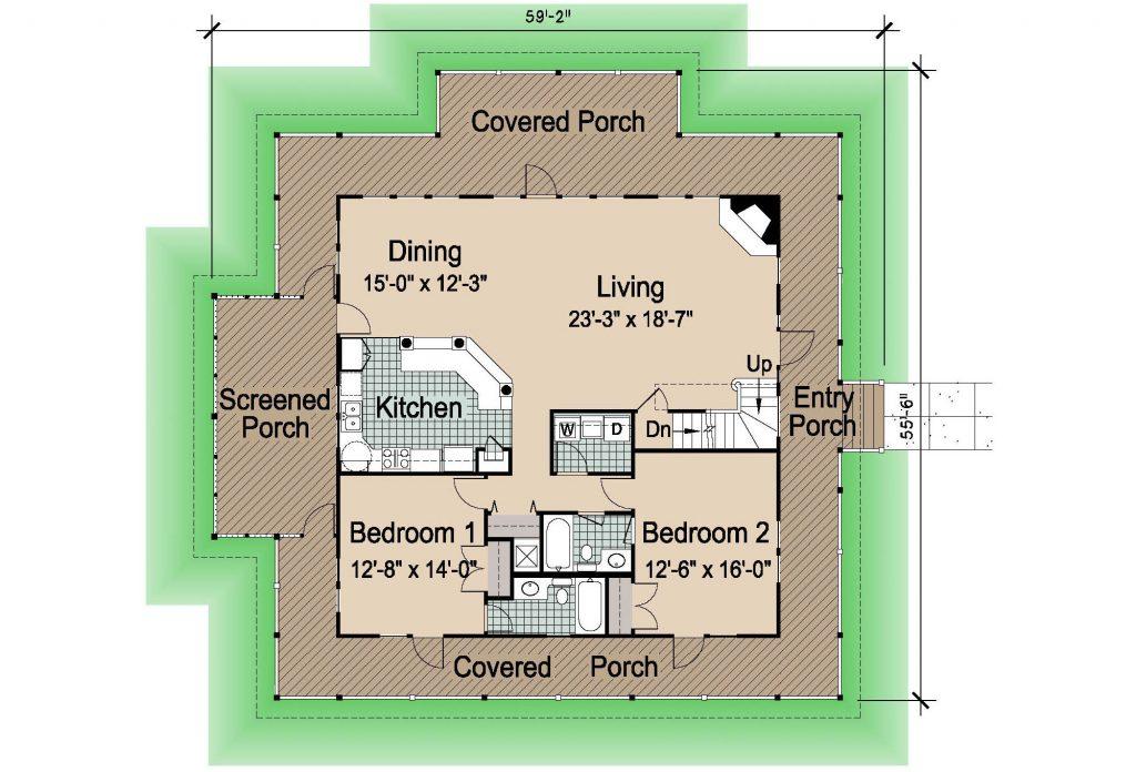 005 - Island-2470-Crawlspace - 1 - First Floor