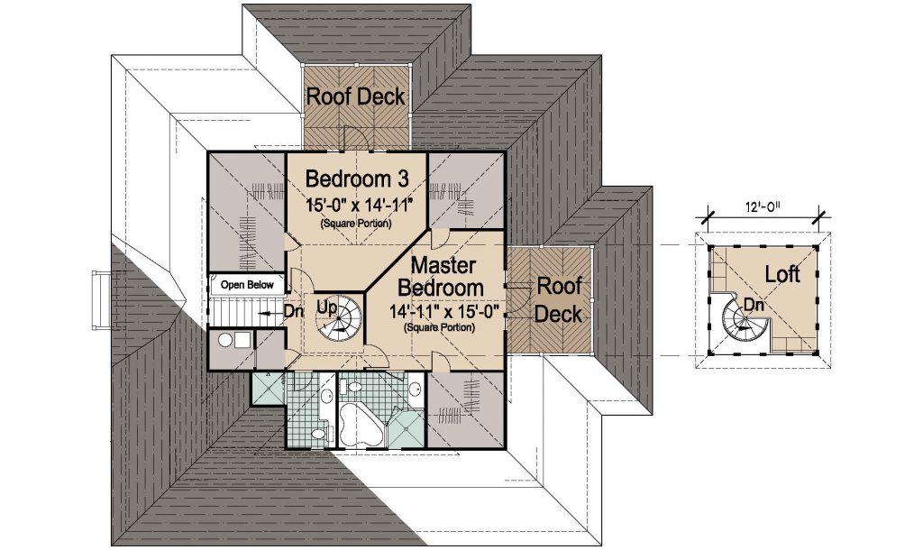 005 - Island-2470-Crawlspace - REV - 2 - Second Floor