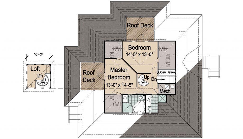 007 - Island-2058-Basement - 3 - Second Floor