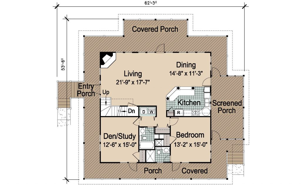 007 - Island-2058-Basement - REV - 2 - First Floor