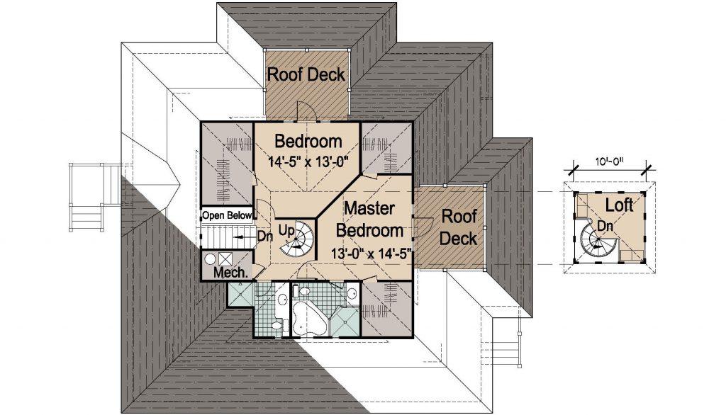 007 - Island-2058-Basement - REV - 3 - Second Floor