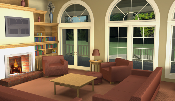 Grand Gazebo Cottage Living Room