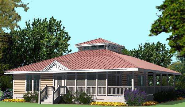 House Plans Hip Roof Porch House Plans