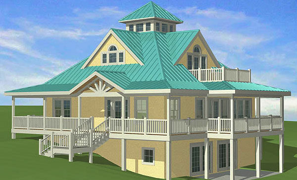 Victorian cottage style beach front home plans joy for Island basement house plans