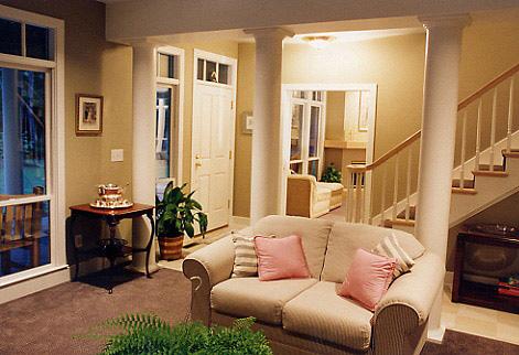Shingle Cottage Living Room