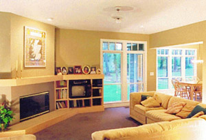 Shingle Cottage Family Room